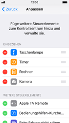 Apple iPhone SE - iOS 11 - Kontrollzentrum - 5 / 8