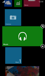 Nokia Lumia 635 - Getting started - Personalising your Start screen - Step 12