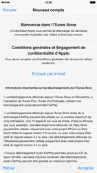 Apple iPhone 6 Plus - Applications - Créer un compte - Étape 11