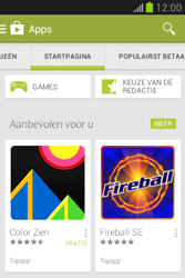 Samsung S6790 Galaxy Fame Lite - apps - app store gebruiken - stap 5