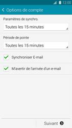 Samsung Galaxy S 5 - E-mail - configuration manuelle - Étape 16