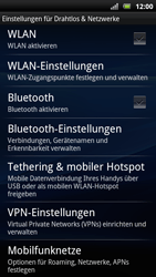 Sony Ericsson Xperia Arc S - Ausland - Im Ausland surfen – Datenroaming - Schritt 7
