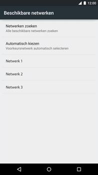 Motorola Nexus 6 - Netwerk - Handmatig netwerk selecteren - Stap 11