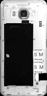 Samsung Galaxy J5 (2016) DualSim - SIM-Karte - Einlegen - 1 / 1