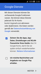 Samsung Galaxy A5 (2016) - Apps - Konto anlegen und einrichten - 17 / 21
