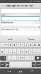 Sony D5803 Xperia Z3 Compact - E-mail - Account instellen (IMAP zonder SMTP-verificatie) - Stap 10