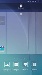 Samsung Galaxy S6 Edge - Startanleitung - Installieren von Widgets und Apps auf der Startseite - Schritt 4