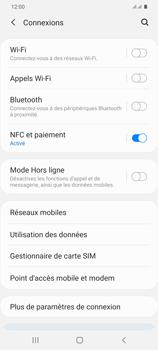 Samsung Galaxy S20+ - Internet et connexion - Partager votre connexion en Wi-Fi - Étape 5