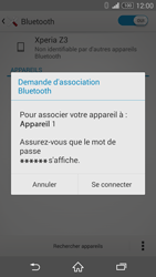 Sony Xperia Z3 - Bluetooth - Jumelage d