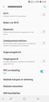 Samsung Galaxy A8 (2018) - internet - data uitzetten - stap 5