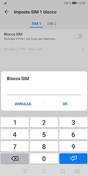 Huawei Mate 10 Pro - Android Pie - Operazioni iniziali - Come abilitare il pin della SIM - Fase 9