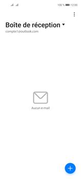 Huawei P40 Lite 5G - E-mails - Ajouter ou modifier votre compte Outlook - Étape 3