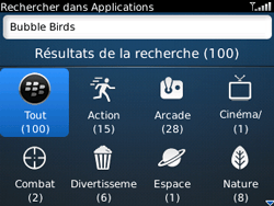 BlackBerry curve 3G - Applications - Télécharger une application - Étape 15