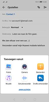 Huawei Mate 20 - E-mail - e-mail versturen - Stap 9