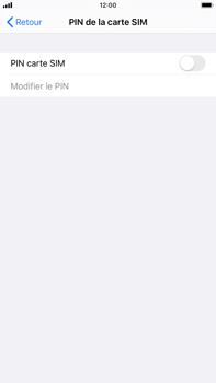 Apple iPhone 8 Plus - iOS 13 - Prise en main - Comment activer un code SIM - Étape 5
