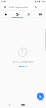 Sony Xperia 10 - Anrufe - Rufumleitungen setzen und löschen - Schritt 4