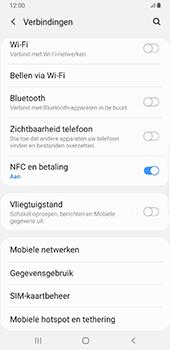 Samsung Galaxy S8+ - Android Pie (SM-G955F) - NFC - NFC activeren - Stap 6