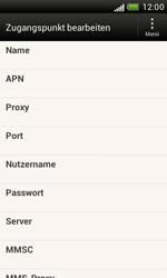 HTC Desire X - Internet - Manuelle Konfiguration - 9 / 23