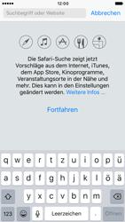 Apple iPhone 6 iOS 10 - Internet und Datenroaming - Verwenden des Internets - Schritt 4