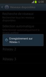 Samsung Galaxy Express - Réseau - Sélection manuelle du réseau - Étape 9