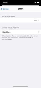 Apple iPhone X - iOS 13 - E-mail - Configuration manuelle - Étape 20