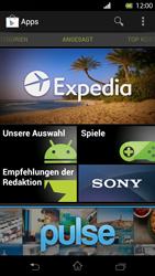 Sony Xperia T - Apps - Einrichten des App Stores - Schritt 19