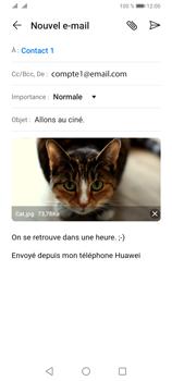Huawei Y6P - E-mails - Envoyer un e-mail - Étape 15