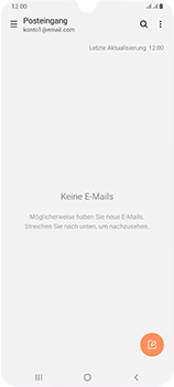 Samsung Galaxy A70 - E-Mail - Manuelle Konfiguration - Schritt 4