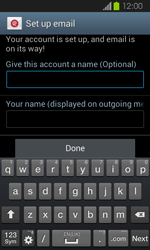 Samsung Galaxy Express - E-mail - Manual configuration - Step 17