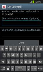 Samsung Galaxy Express - E-mail - Manual configuration - Step 17