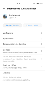 Huawei P40 Pro - Applications - Supprimer une application - Étape 6