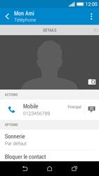HTC Desire 510 - Contact, Appels, SMS/MMS - Ajouter un contact - Étape 10