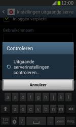 Samsung S7710 Galaxy Xcover 2 - E-mail - Handmatig instellen - Stap 17