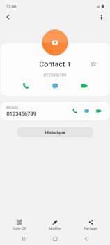 Samsung Galaxy A51 5G - Contact, Appels, SMS/MMS - Ajouter un contact - Étape 9