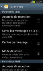 Samsung I8260 Galaxy Core - SMS - Configuration manuelle - Étape 8