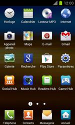 Samsung Galaxy S II - Réseau - Sélection manuelle du réseau - Étape 3