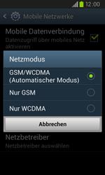 Samsung Galaxy S2 Plus - Netzwerk - Netzwerkeinstellungen ändern - 0 / 0