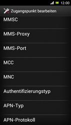 Sony Xperia J - Internet und Datenroaming - Manuelle Konfiguration - Schritt 14