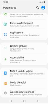 Samsung Galaxy A40 - Aller plus loin - Mettre à jour le logiciel interne de votre mobile - Étape 5