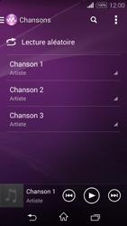 Sony Xpéria E3 - Photos, vidéos, musique - Ecouter de la musique - Étape 5