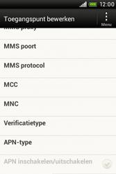 HTC A320e Desire C - internet - handmatig instellen - stap 12