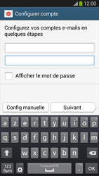 Samsung SM-G3815 Galaxy Express 2 - E-mail - configuration manuelle - Étape 6