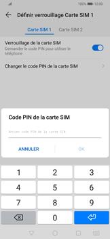 Huawei P Smart Z - Sécurité - modifier SIM PIN - Étape 8