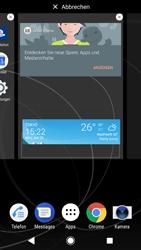 Sony Xperia XZ1 - Startanleitung - Installieren von Widgets und Apps auf der Startseite - Schritt 6