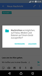 Sony Xperia XZ - MMS - Erstellen und senden - 15 / 21