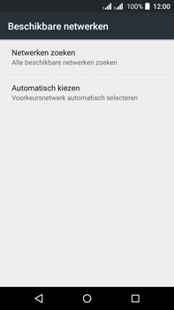 Acer Liquid Z630 - Netwerk - Handmatig een netwerk selecteren - Stap 8