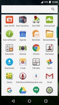 Acer Liquid Zest 4G Plus - Internet - hoe te internetten - Stap 2