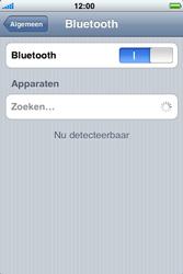 Apple iPhone 4 - Bluetooth - Headset, carkit verbinding - Stap 5