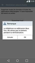 LG Spirit 4G - Téléphone mobile - Réinitialisation de la configuration d