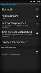 Sony LT26i Xperia S - bluetooth - aanzetten - stap 8